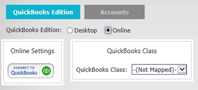 QuickBooks Setup – Help Center | RICS Software