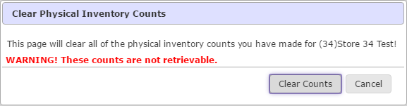 how to conduct a physical inventory help center rics software